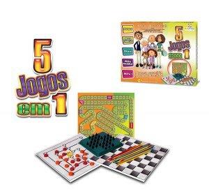 Kit 5 Jogos em 1 012 - Divplast