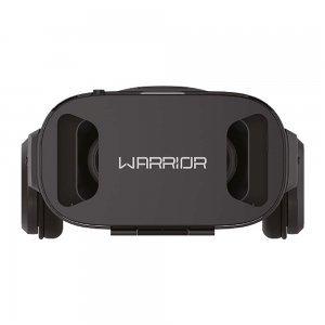 Óculos 3D Realidade Virtual Com Headphone Warrior JS086 - Multilaser