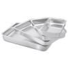 Conjunto com 4 Assadeiras de Alumínio - Mr. Cook
