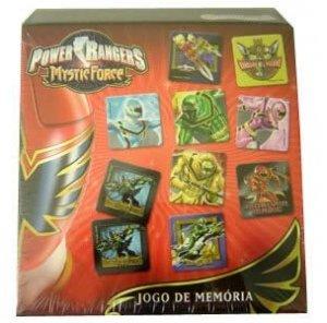 Power Rangers Forca Mistica Jogo De Memoria Loja Mega