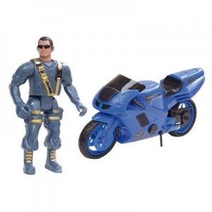 Boneco Fatal War Policia - Defesa & Resgate - BS Toys