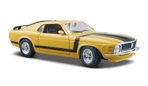 Réplica Miniatura Colecionável Ford Boss Mustang 1970 Escala 1:24 - 31943 - MAISTO