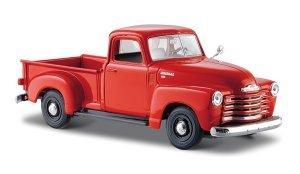 Réplica Miniatura Colecionável Chevrolet® 3100 Pickup 1950 Escala 1:24 - 31952 - MAISTO