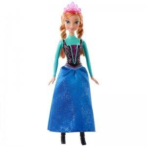 Boneca Princesa Anna Brilhante - Disney Frozen - Mattel