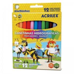 Canetinhas Hidro Super 12 Cores 6922 - Acrilex