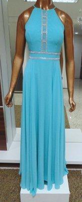 cbd6887a9 Vestido longo c/ detalhe em strass