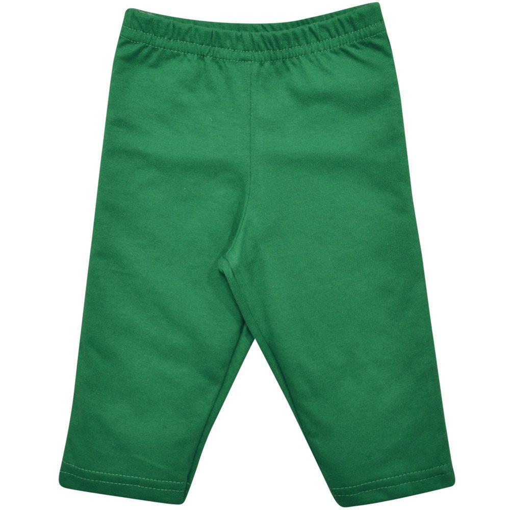Calça Culote em Meia Malha 100% Algodão Nigambi Verde