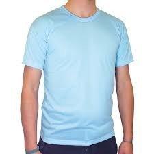Camiseta lisa CORES sublimação 100% poliéster ADULTO  P-M-G-GG