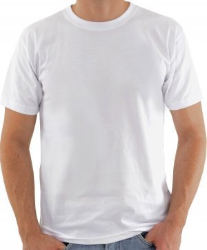 Camiseta Lisa Branca 100% algodão fio 24 cardado ADULTO  P-M-G-GG
