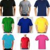 Camiseta Lisa Cores 100% algodão Fio 30 Penteado  P-M-G-GG