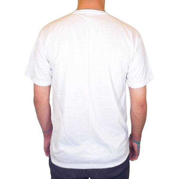 Camiseta Lisa Branca PV malha fria 67% Poliéster 33% Viscose P-M-G-GG eb455ff262077