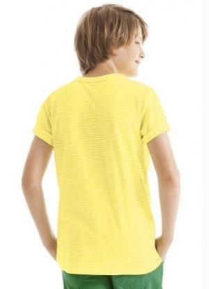 Camiseta Lisa Cores PV 67% Poliéster 33% Viscose INFANTIL 2-4-6-8 anos