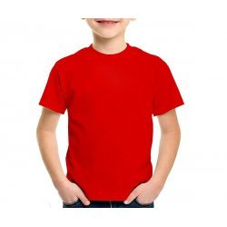 Camiseta Lisa Cores  PV 67% Poliéster 33% Viscose JUVENIL 10-12-14-16 anos