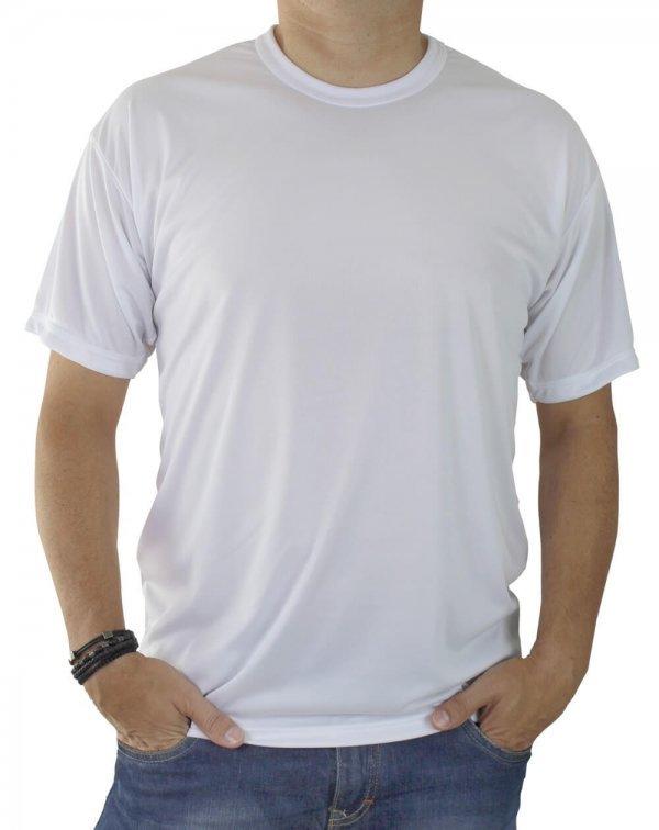 a79b56e7d Camiseta Lisa Branca 100% algodão Fio 30 Penteado XGG