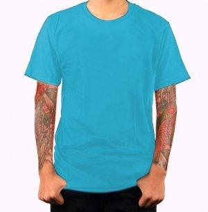 Camiseta Lisa Cores  100% algodão Fio 30 Penteado XGG