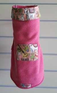 Capa de Inverno rosa