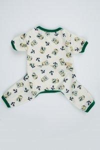 Pijama Urso Verde