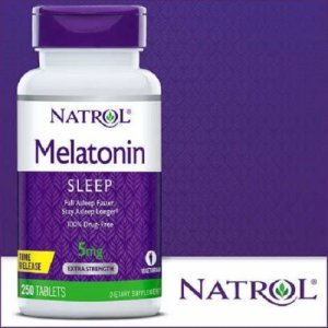 Melatonina Natrol 5mg 250 Tabletes Time Release
