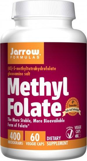 Metil Folato Jarrow 400 Mcg 60 Tabletes