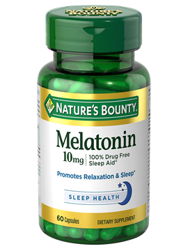 Melatonina 10mg Nature's Bounty 60 cápsulas