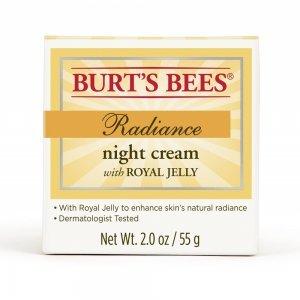 Hidratante Facial Noturno Burt's Bees com geleia real 55g - Radiance