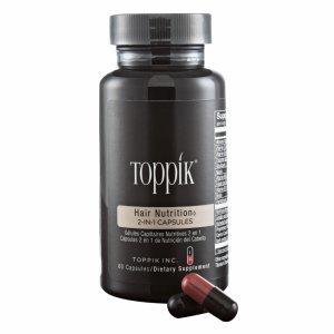 TOPPIK NUTRIÇÃO CAPILAR COMPRIMIDOS 2 EM 1 (60 CAPS)