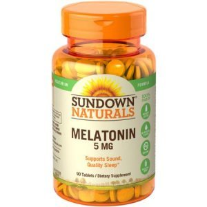 MELATONINA SUNDOWN NATURALS VEGETARIAN 5 MG 90 TABLETS