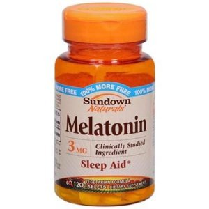 MELATONINA SUNDOWN NATURALS 3 MG 120 TABLETS
