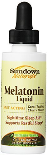 MELATONINA LIQUIDA SUBLINGUAL SUNDOWN NATURALS 59 ML CEREJA