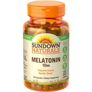 MELATONINA SUNDOWN NATURALS VEGETARIAN 90 CAP/10MG