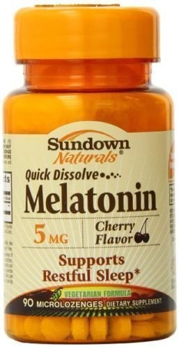 MELATONINA SUNDOWN NATURALS DISSOLVABLE 90 COMP/5MG CEREJA