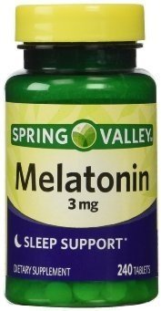 Melatonina Spring Valley 3mg 240 Tabletes Sleep Support