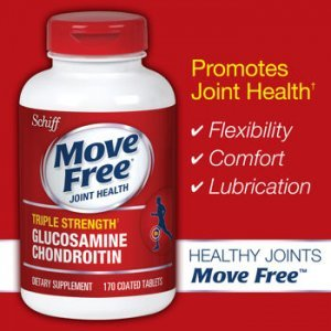 Move Free Joint Health Triple Strength 170 Tabletes (Glucosamina e Condroitina)