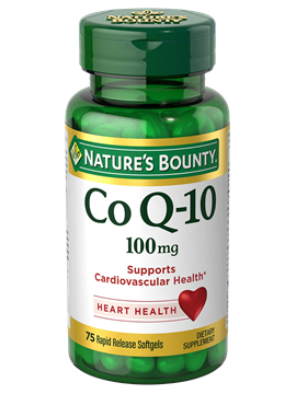 Coenzima Q-10 Natures Bounty 100Mg 75 SoftGels (Liberação Rápida)