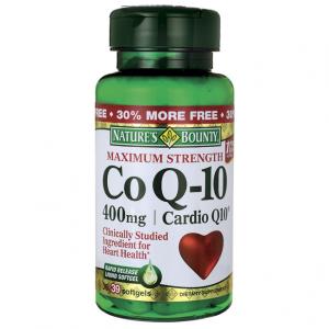 Coenzima Q-10 Natures Bounty 400Mg Maximum Strenght 39 SoftGels (Liberação Rápida)