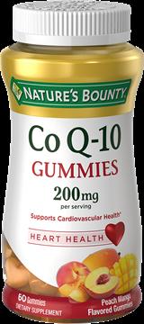 Coenzima Q-10 200Mg 60 Gummies (Gomas) - Sabor Manga c/ Pêssego