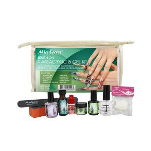 Kit Unha Gel Mia Secret Professional - Transparente