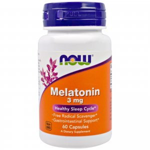 Melatonina Now Foods 3 Mg 60 Caps Health Sleep