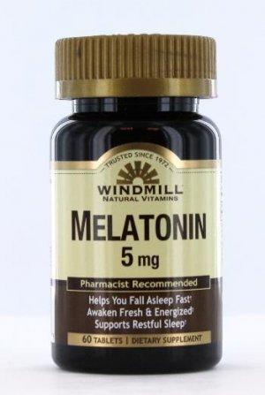 Melatonina WindMill 5 Mg 60 Tabletes
