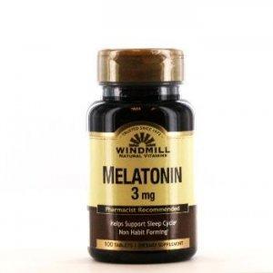 Melatonina WindMill 3 Mg 100 Tabletes