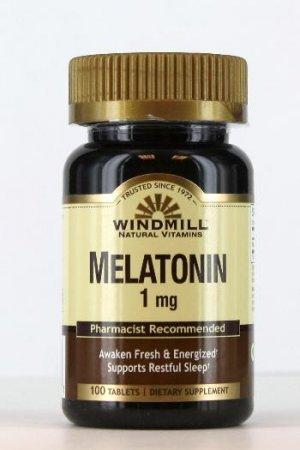 Melatonina WindMill 1 Mg 100 Tabletes