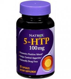 5-HTP Natrol 100Mg 30 Cápsulas