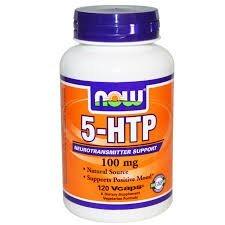 5-HTP Now 100 Mg Vegetais 120 Cápsulas c/ Amino Ácidos