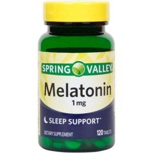 Melatonina Spring Valley 1mg 120 Comprimidos Sleep Support