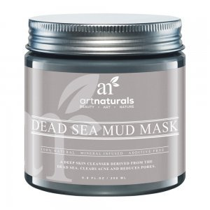 Máscara Lama Negra Do Mar Morto Rejuvenescedora - Israel 260GR