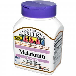 Melatonina 21St Century 3 MG 90 Comprimidos Easy