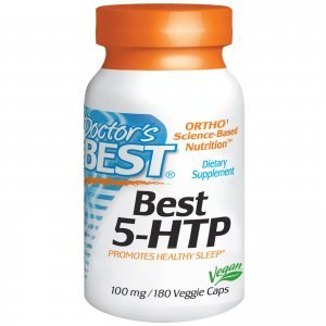5-HTP Dr Best 100 Mg Vegetais 180 Cáps - Vegetais