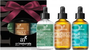 Tratamento Anti-idade Art Naturals - Retinol 2,5%, Hialurônico, Vitamina C 3x30 ML