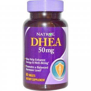 DHEA Natrol 50MG com Cálcio  - 60 Tabletes