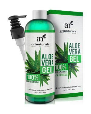 Aloe Vera Art Naturals Gel 100% Natural Com Aplicador 340gr